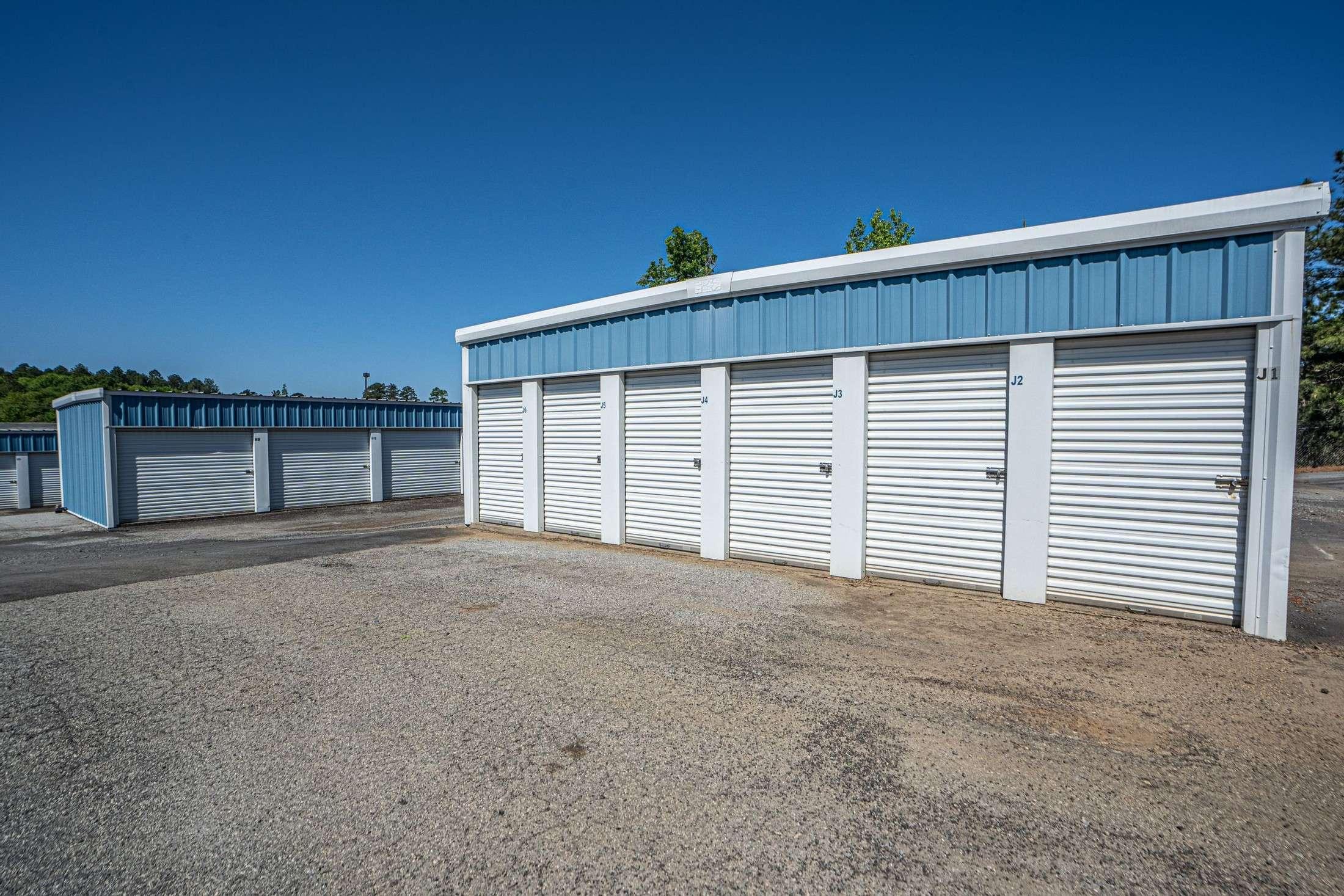 Multiple Self Storage Buildings
