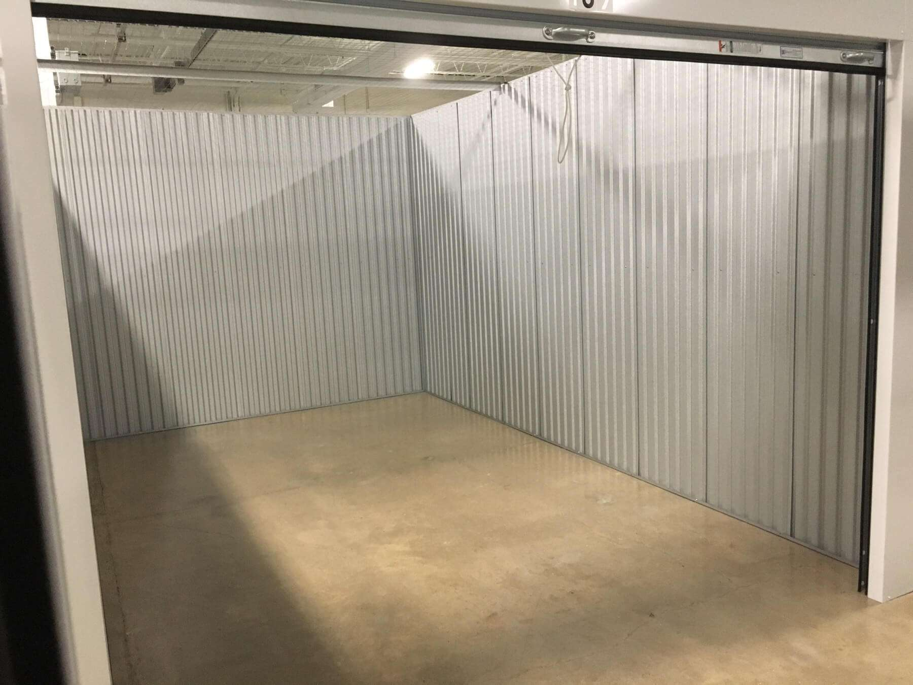 Hillsborough Self Storage Open storage unit